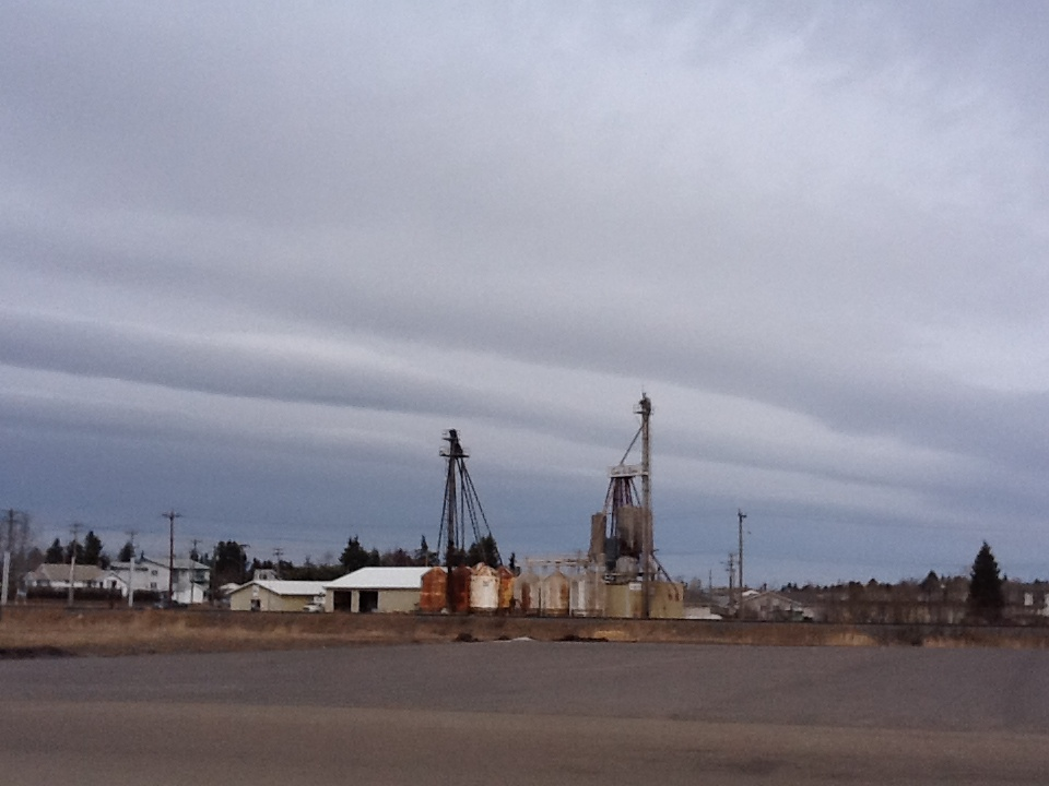 Stormy Skies over Innisfail