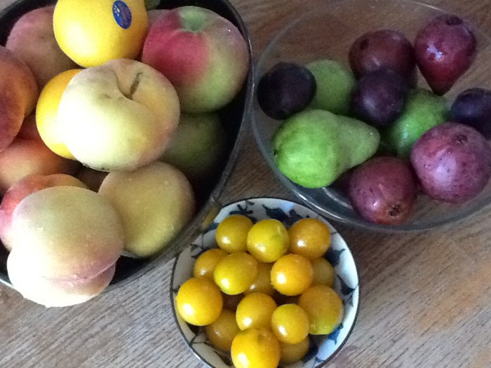 Produce from the wonderful Collingwood Sunday Farmer's Market