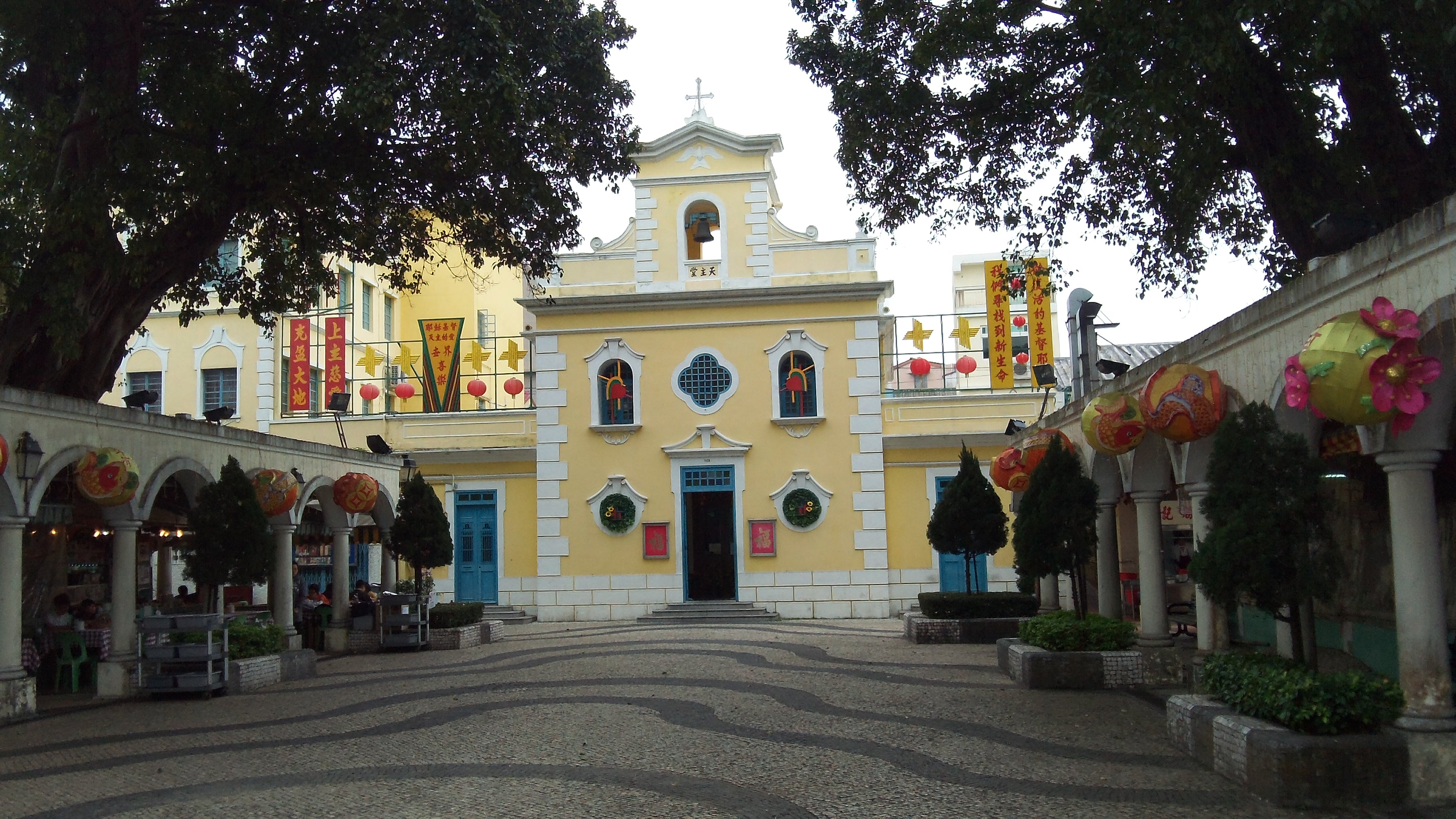 Coloane Church, Macau