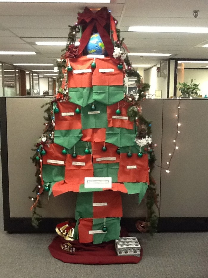 Our Branch's 'Deck the Halls' Entry