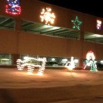 Christmas Lights: Ogopogo Stalks Reindeer
