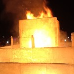 Ice on Whyte ends in Flames