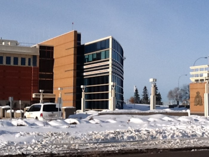 The RCMP Station on Kingsway