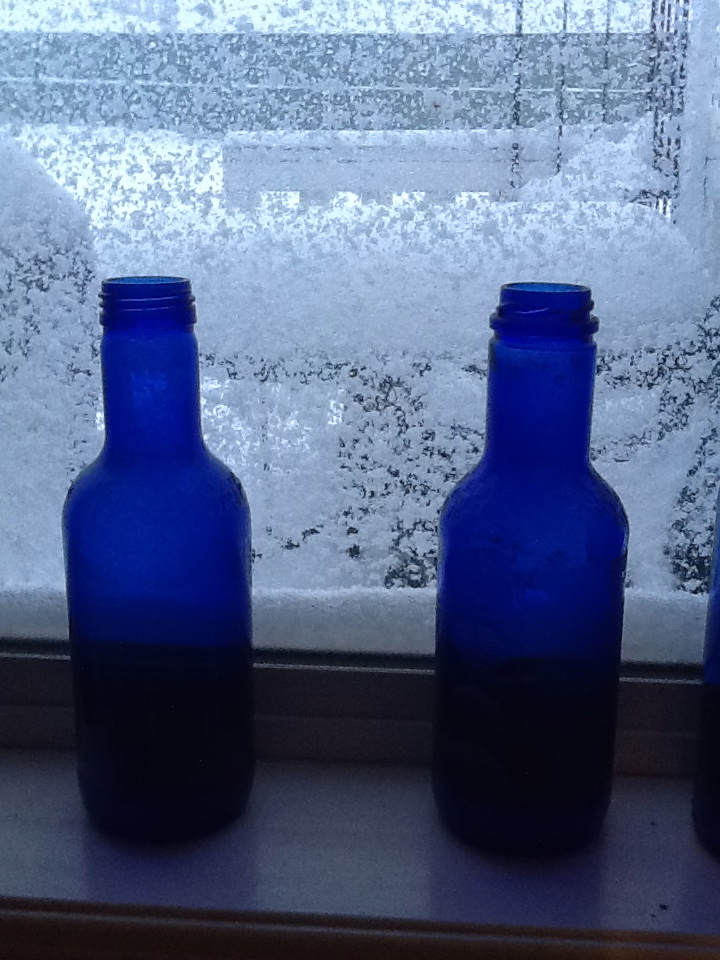 Snow and Bottles