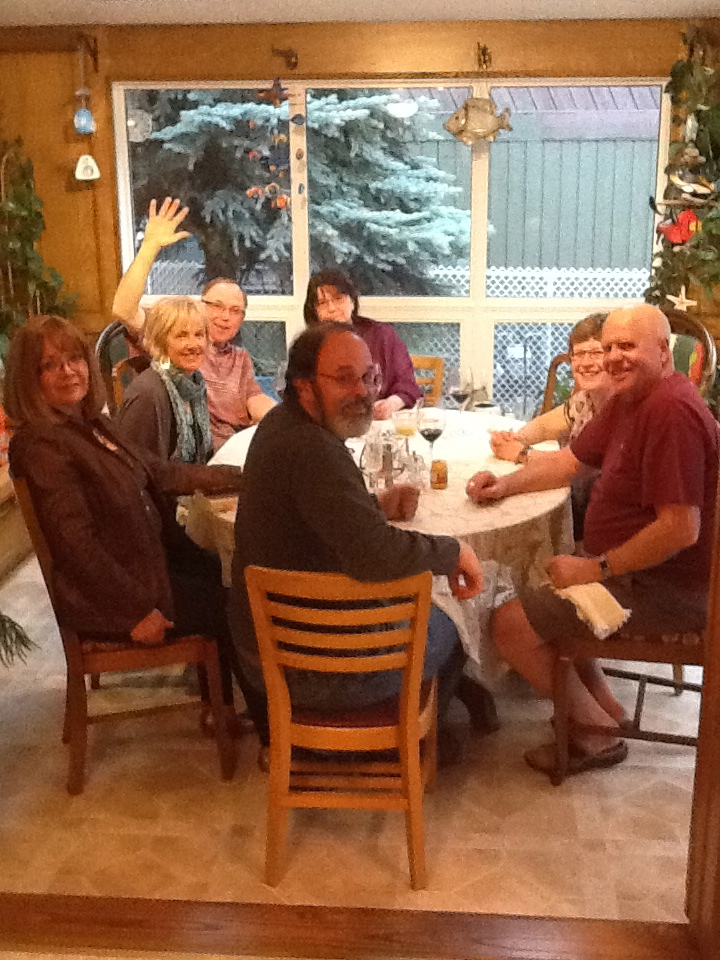 Culture Club meeting with spouses