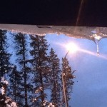 Icicle and Street Lamp