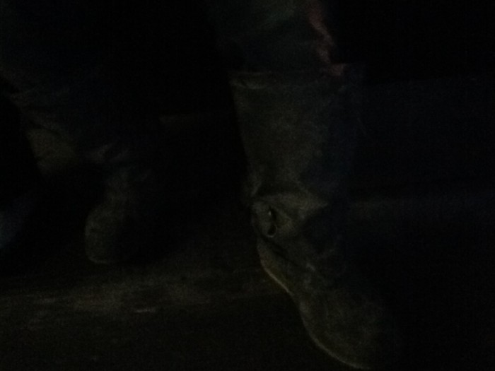 Boots on a Crowded Bus