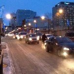 Rush Hour Traffic, Jasper Ave