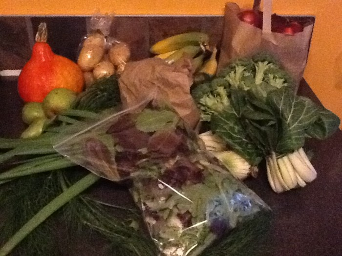 Another Wonderful Organic Box Delivery