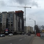 Condo Construction on Jasper Ave