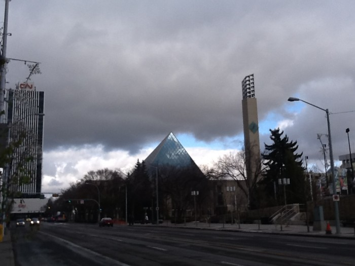 Stormy Skies over Churchill Square