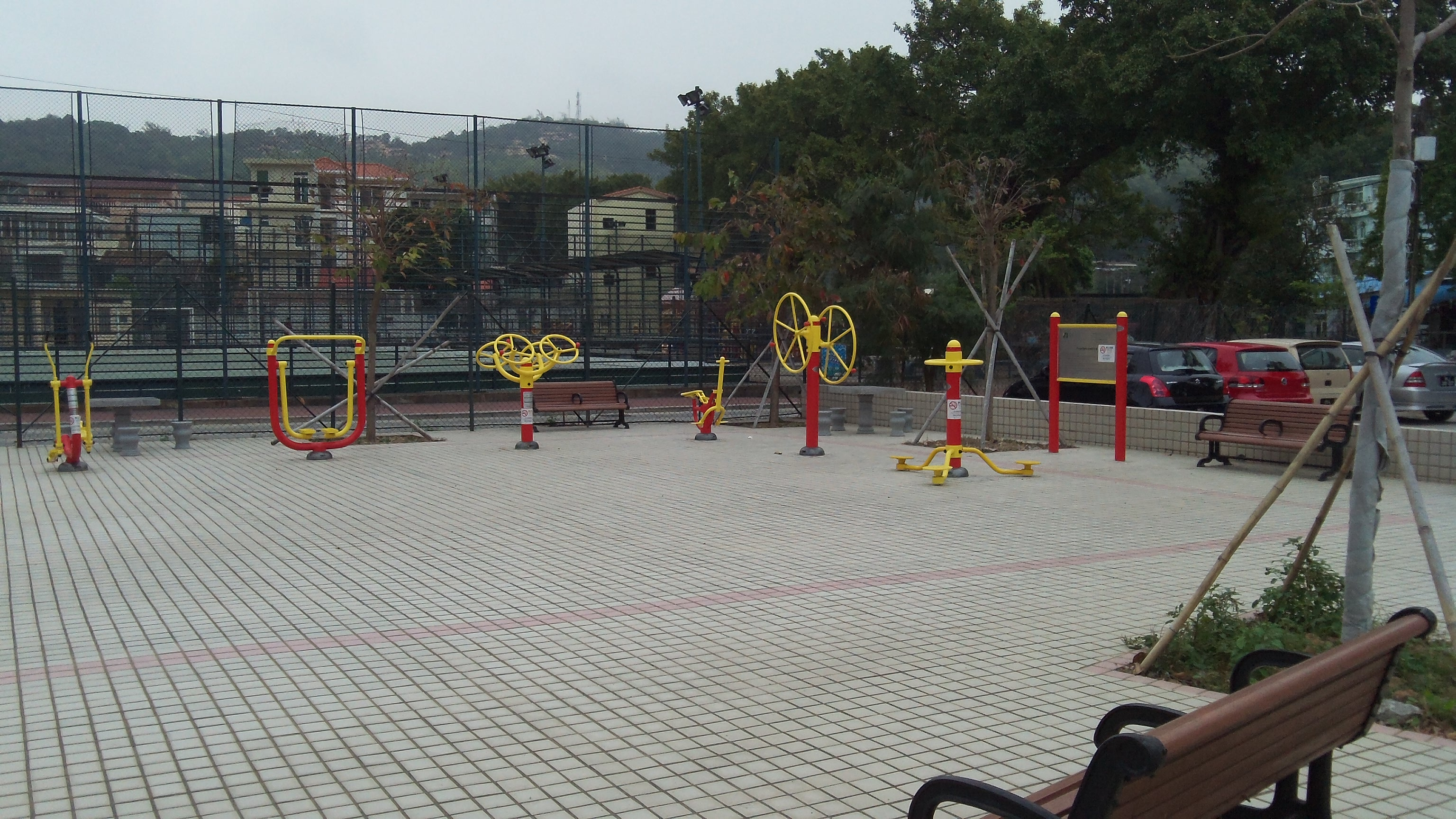Outdoor gym, Macau
