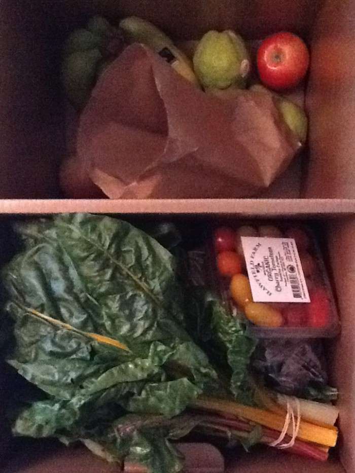 Our Organic Box This Week