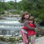 The Girls at Sauble Falls, Ontario