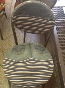 My Chair at the Backstreet Bistro