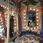 Carousel Refection Fort Edmonton