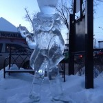 102 High Street Ice Sculpture