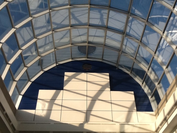 The Skylight in the library at 44 Cap