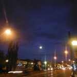 Full Moon on 124 Street