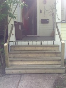 New Front Steps