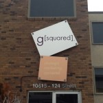 G Squared Sign on 124th Street