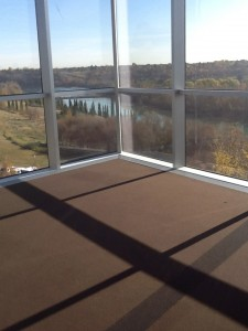 The North Saskatchewan River from the Shaw Conference Centre