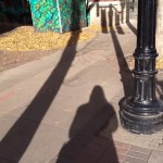 My shadow on 104 Street