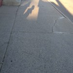 Sidewalk Shadows