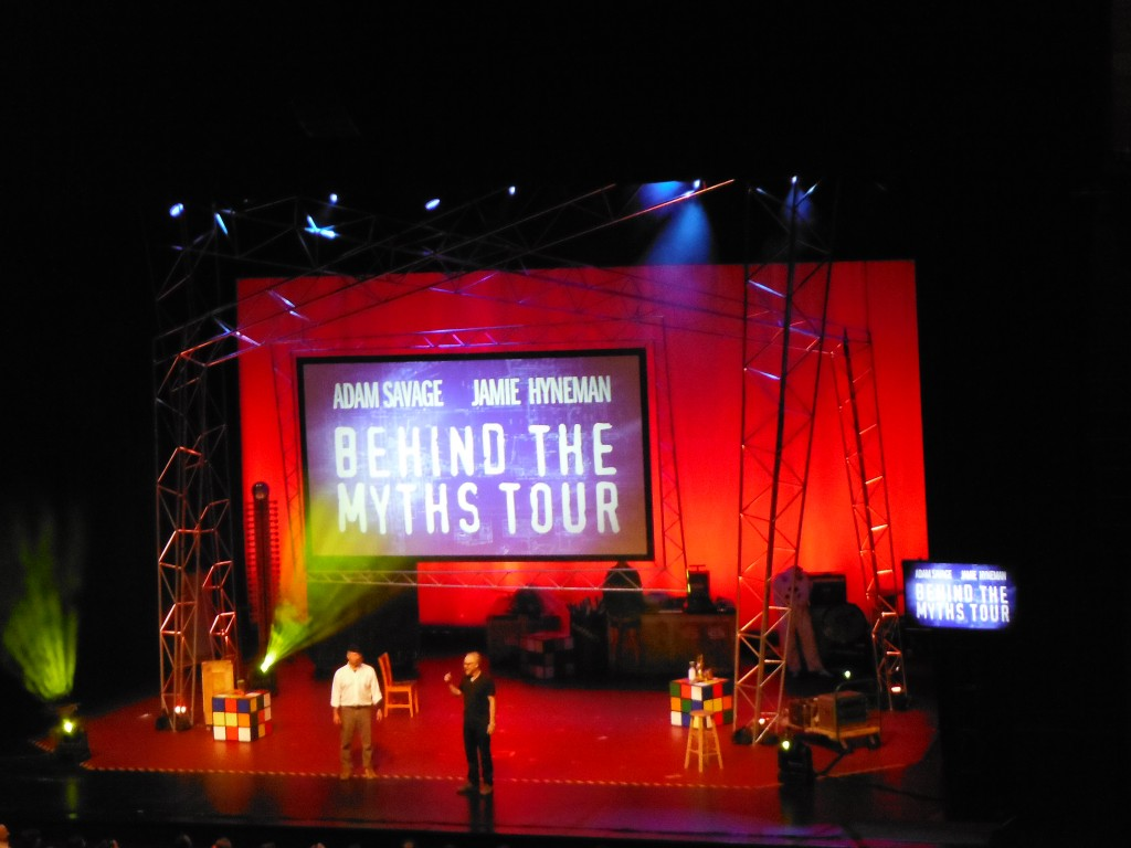 Myth Busters Behind the Myths Tour