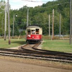 The streetcar at Fort Edmonton