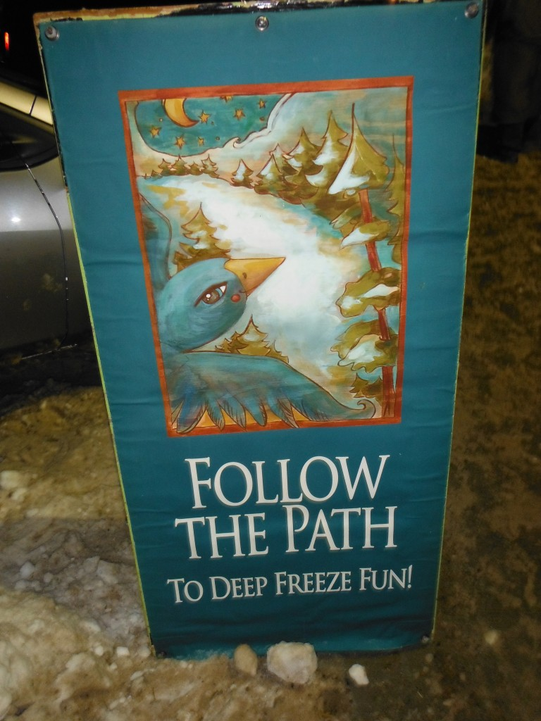 Deep Freeze Sign