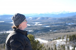 At the top of Two Pine, January 1, 2013