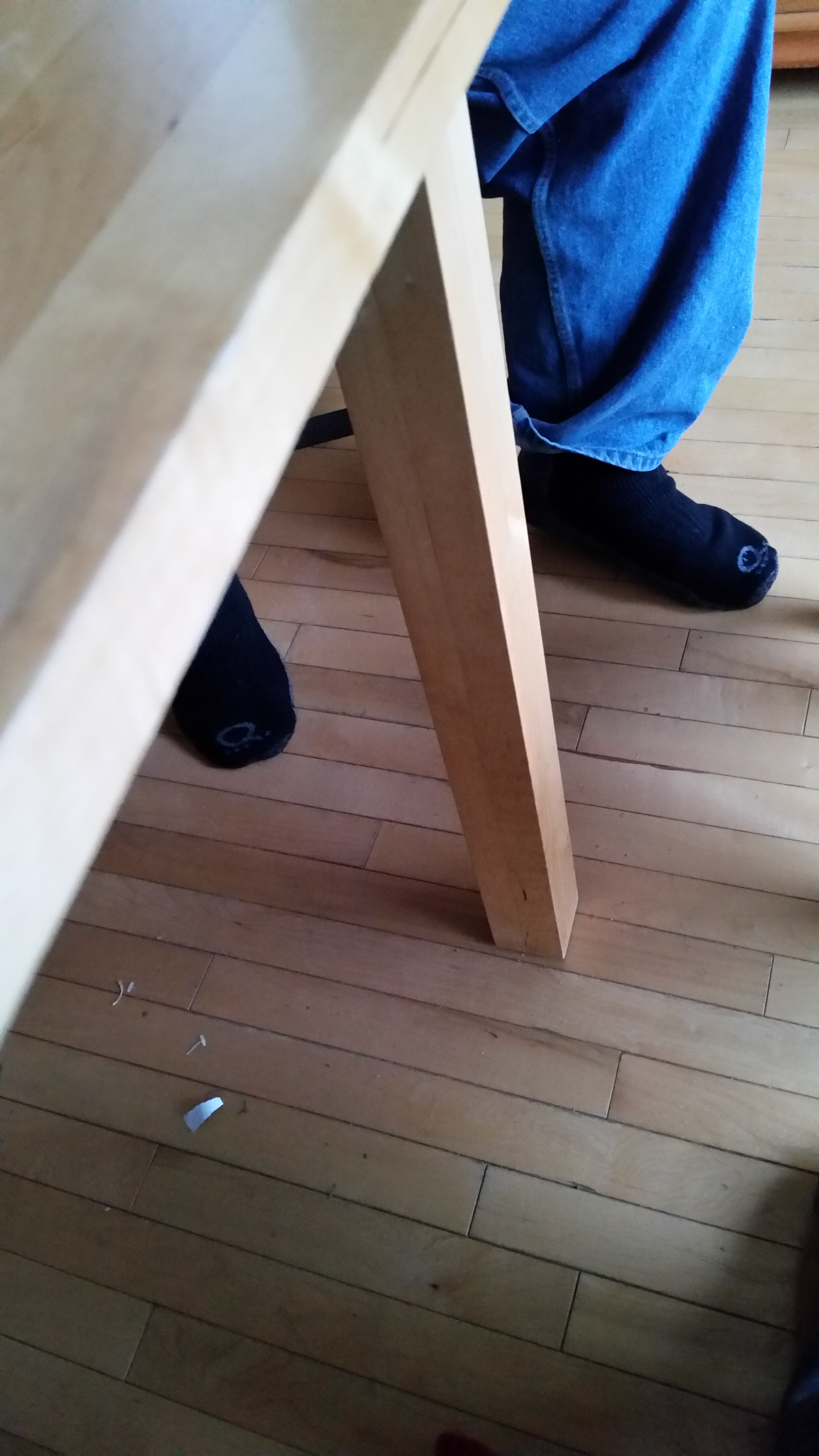 Table and Feet