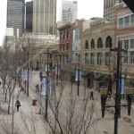 Stephen Avenue Mall from the Pedway