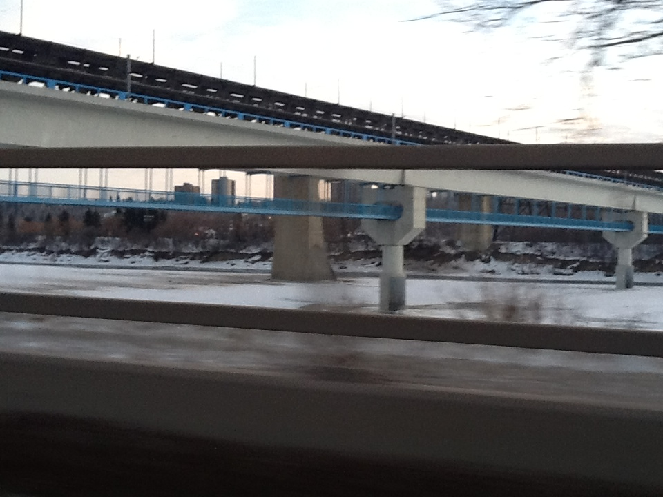LRT and High Level Bridges over the North Saskatchewan River