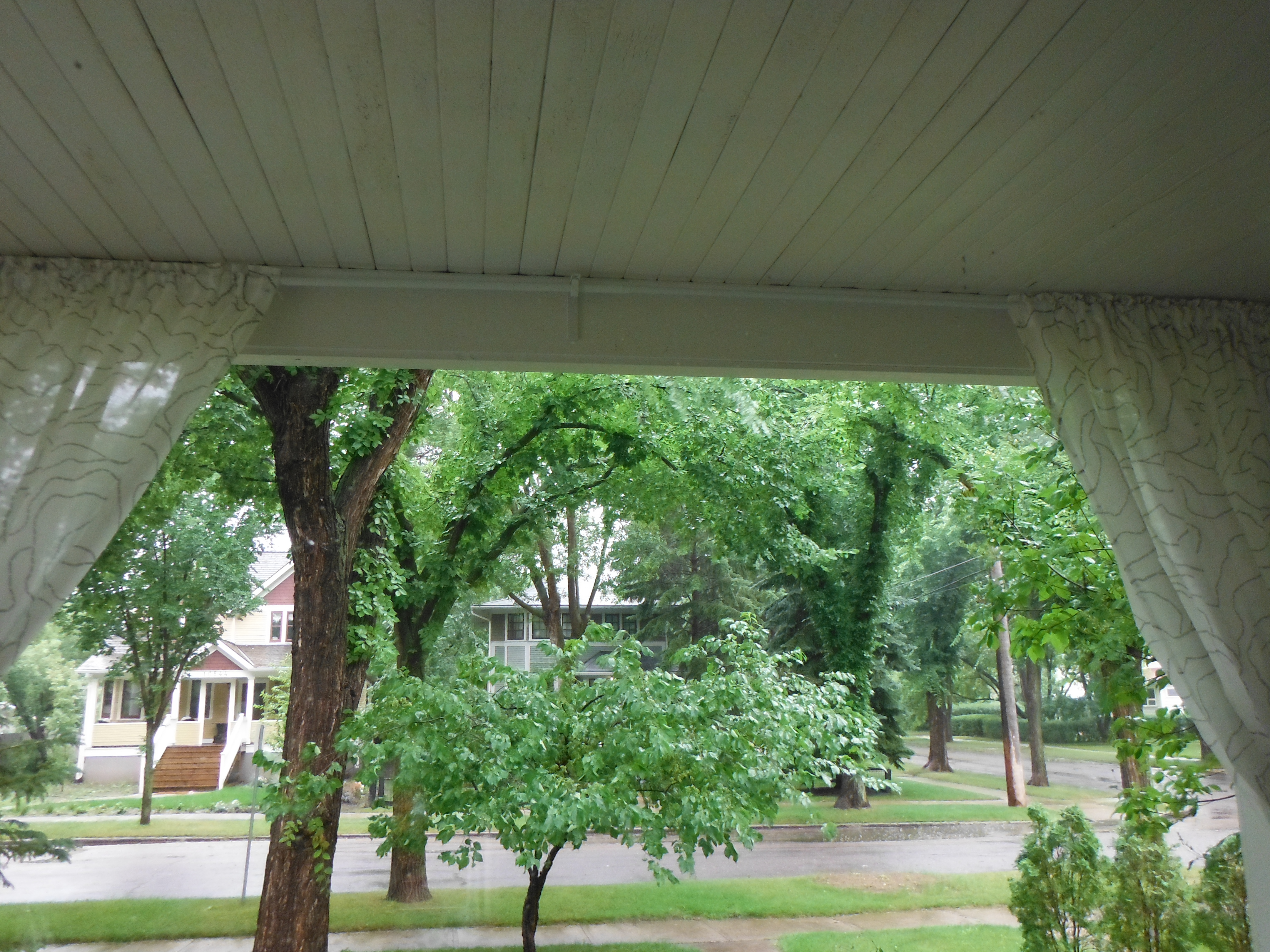 The view from the porch