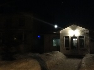 Moon & House Next Door