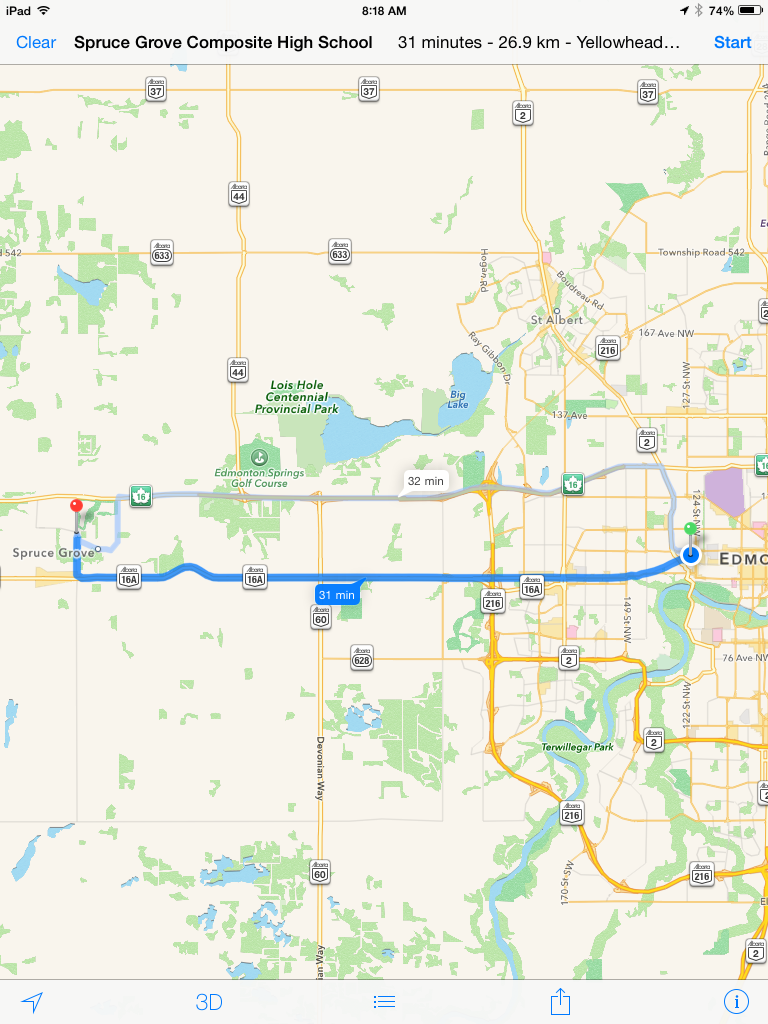 Directions to EdCampPSD70