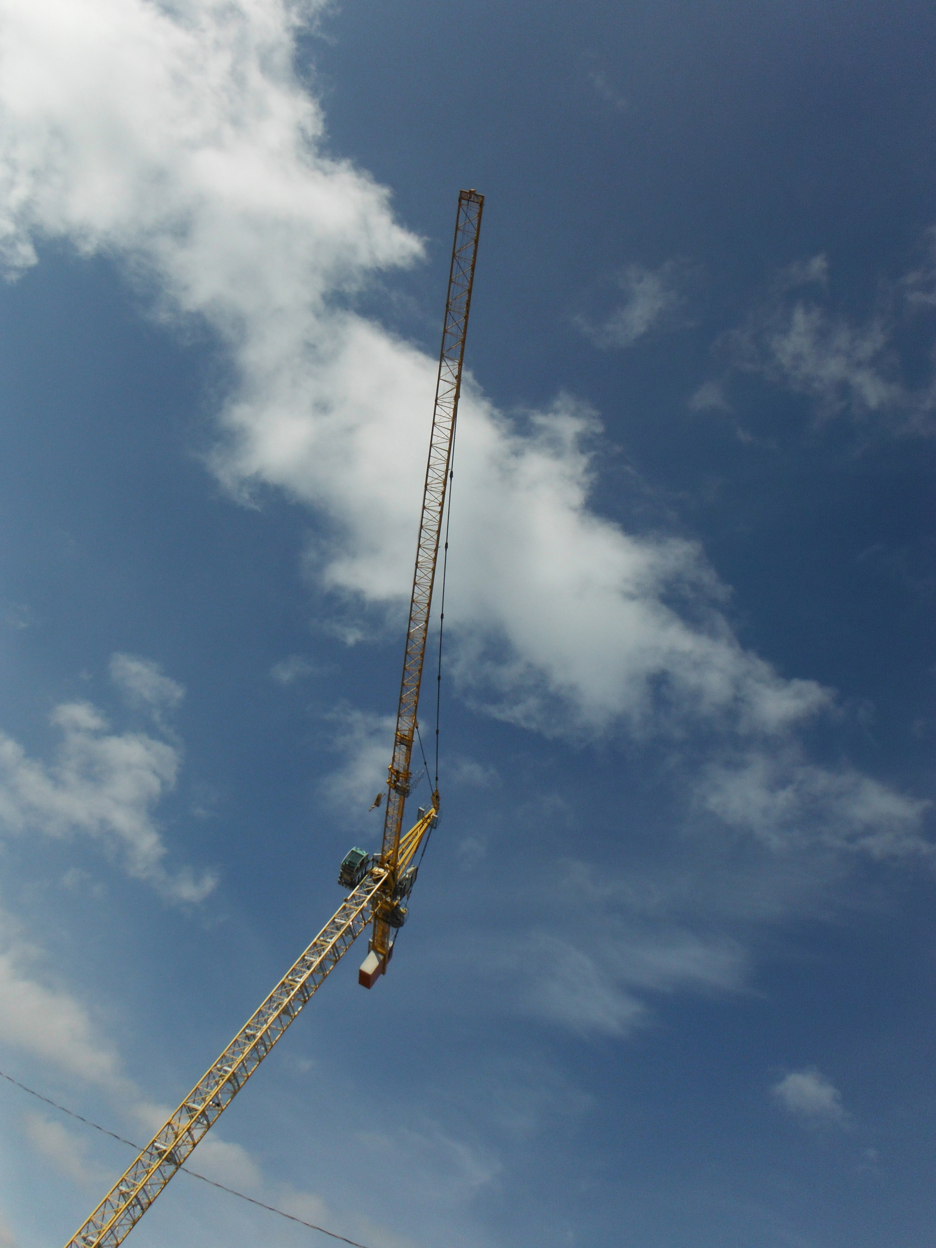 Another construction crane
