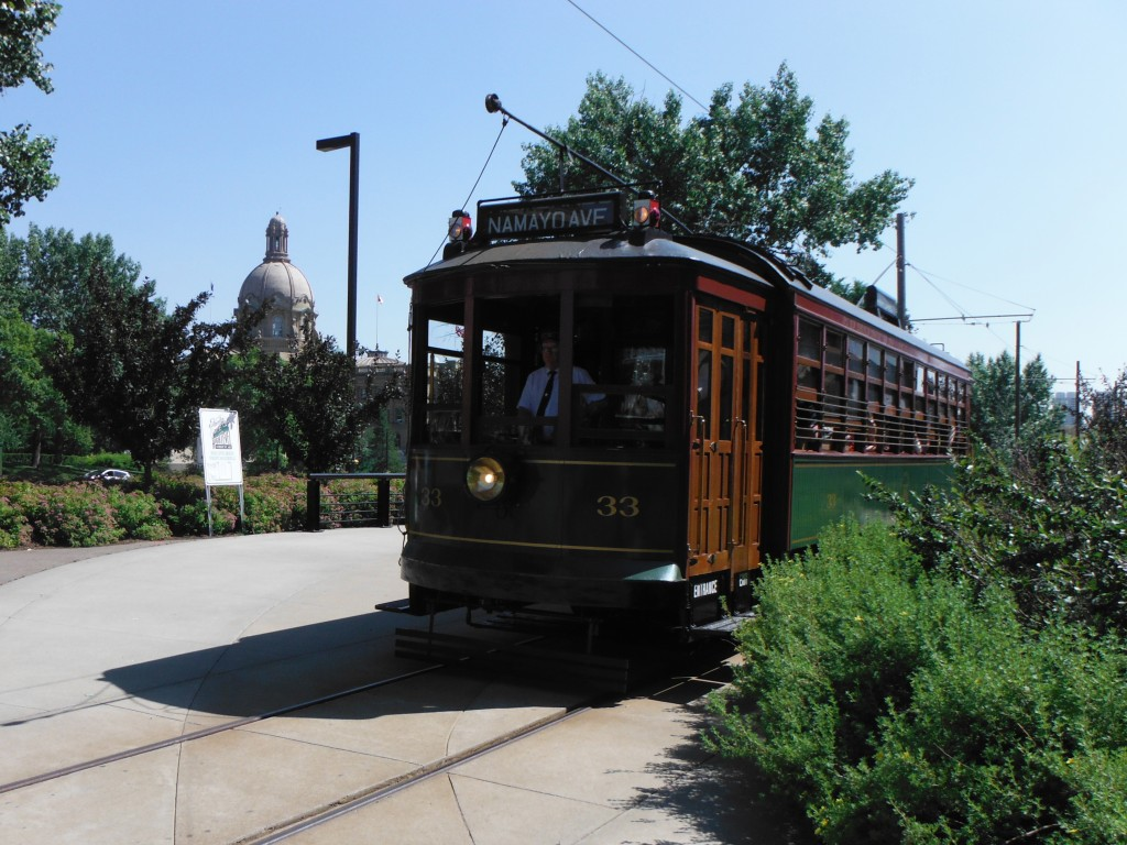 The Historic Streetcar and the Legislature