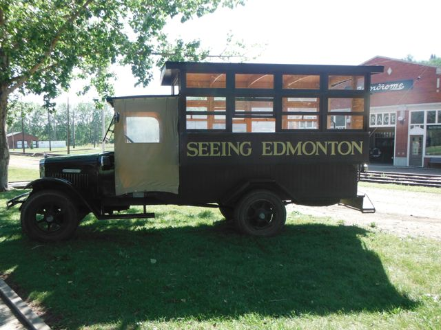 The Seeing Edmonton Touring Car