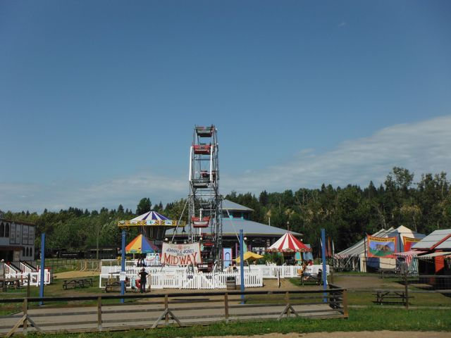 The Ferris Wheel at Fort Edmonton