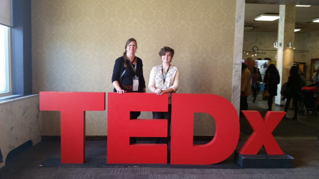 Jay and I at TEDx