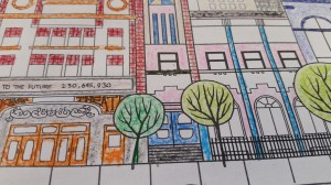 White Avenue Colouring